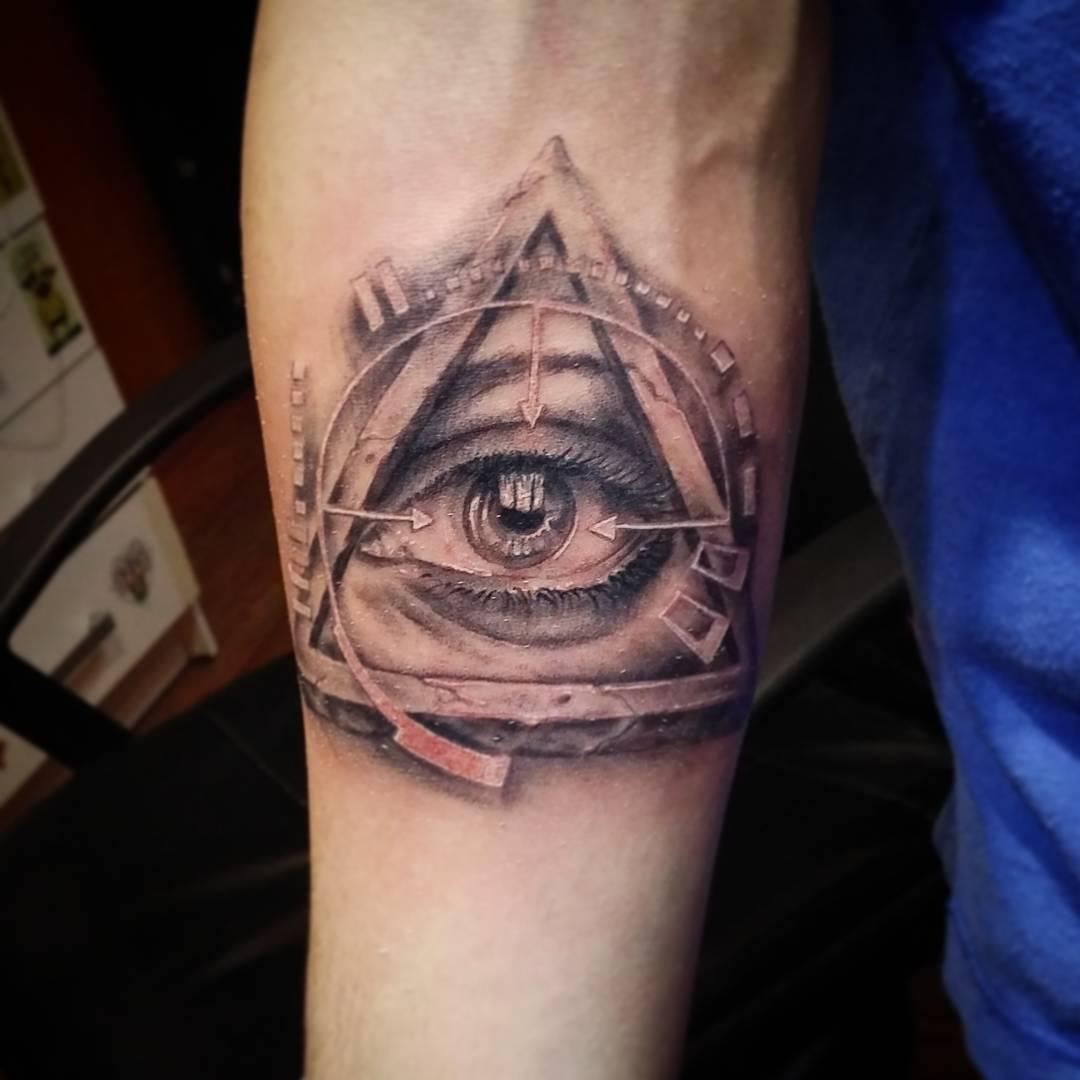 Татуировка всевидящее око - значение