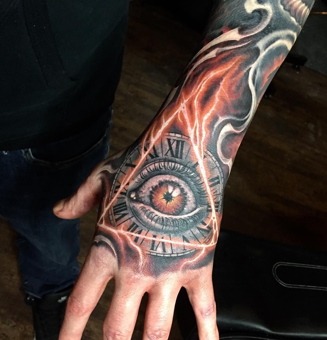 Значение тату часы: идеи и смысл татуировок с часами