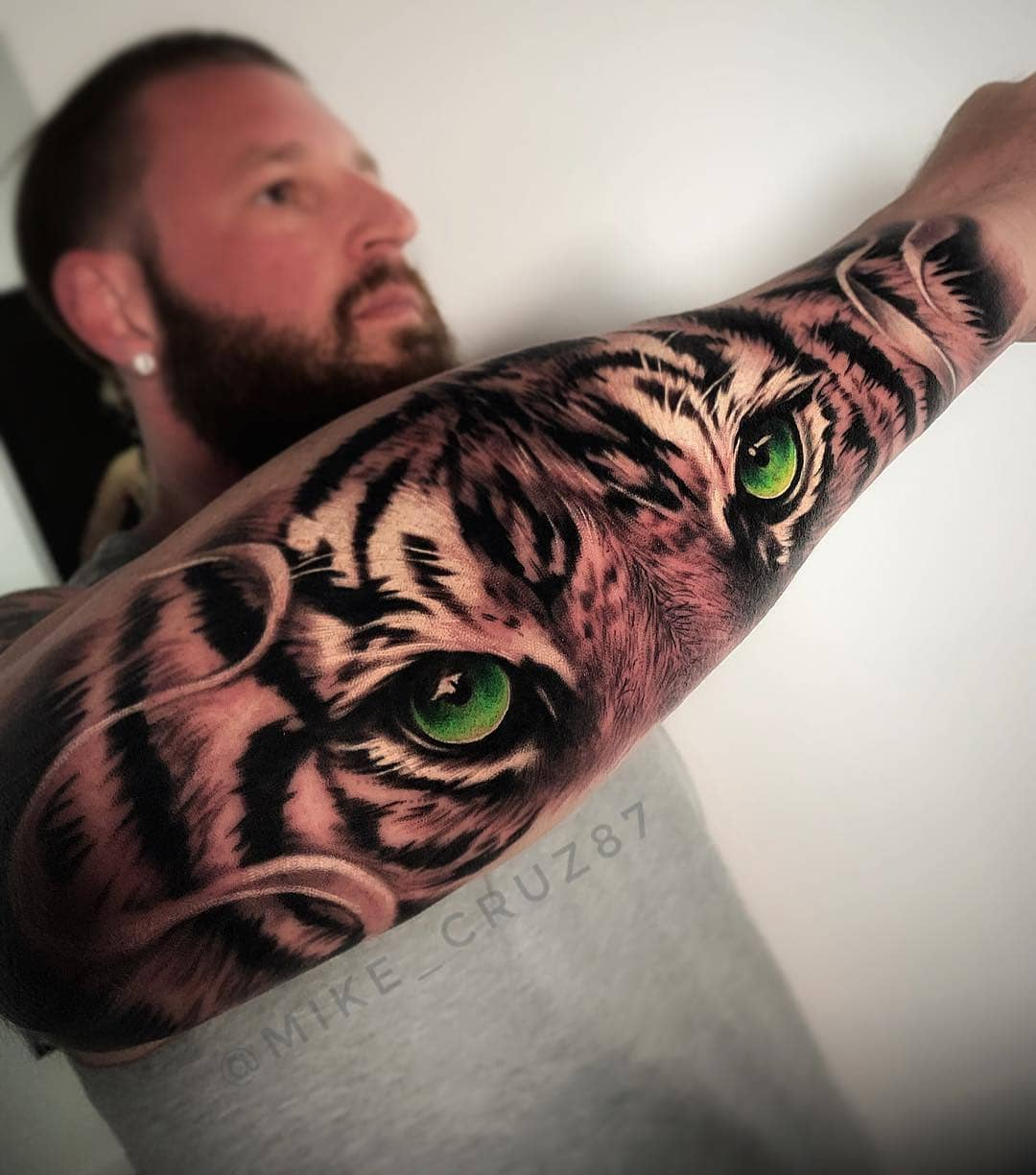 Тату тигра: лучшие изображения