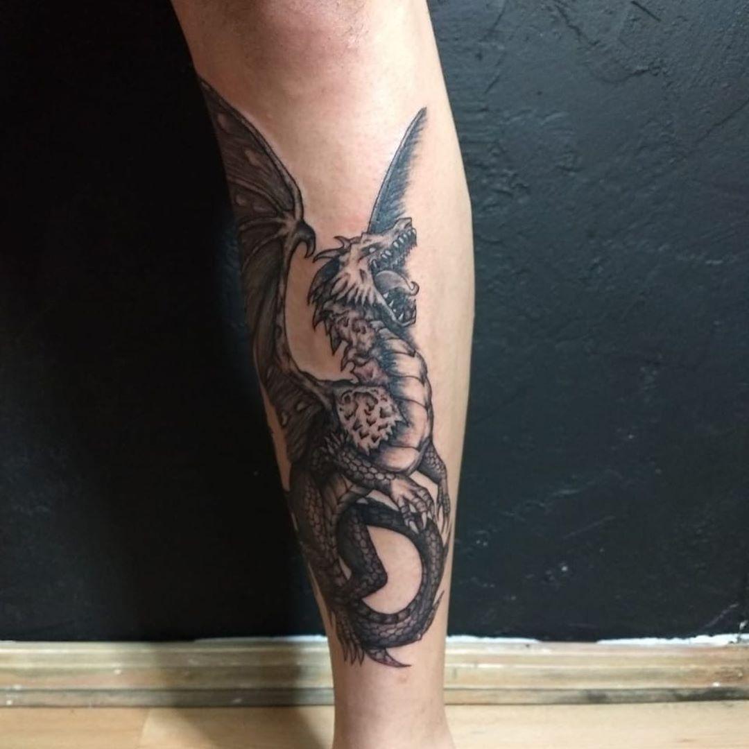 гарчащий дракон