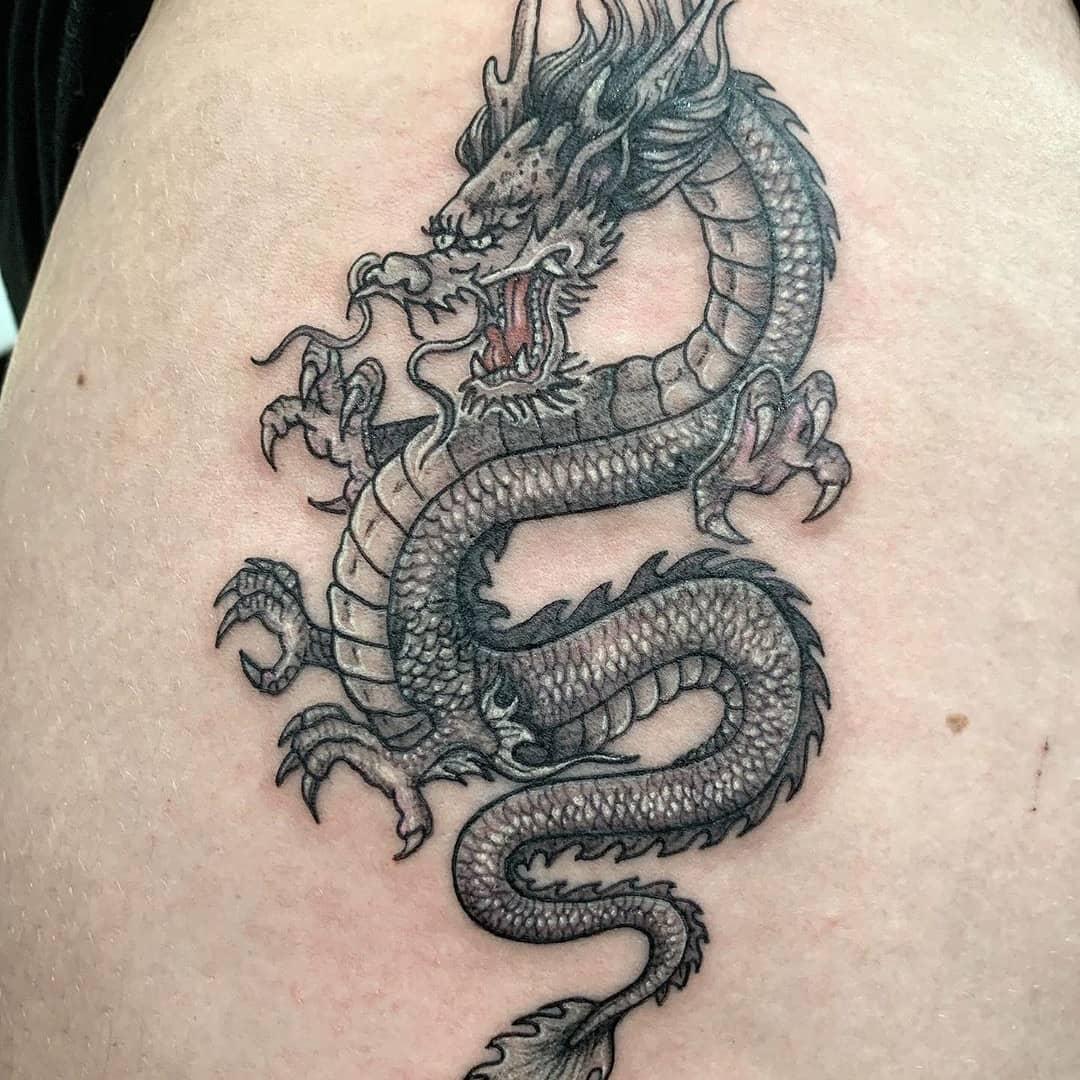 татуювання дракона