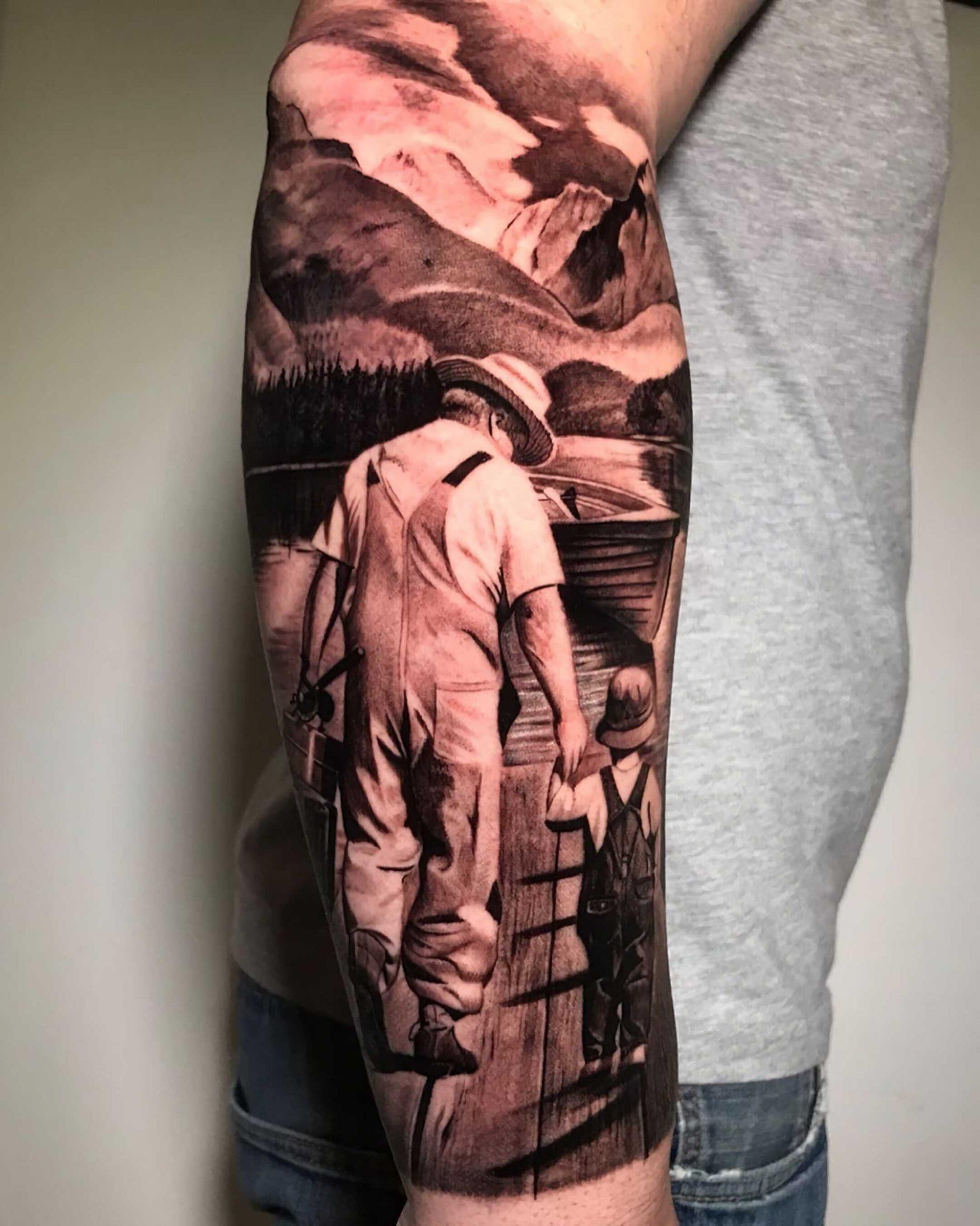 значимая татуировка ребенка на руке