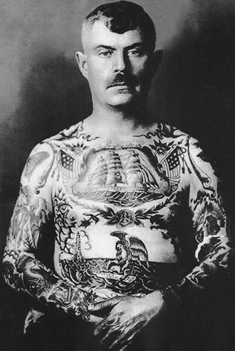 історія татуювань в 1940 роках