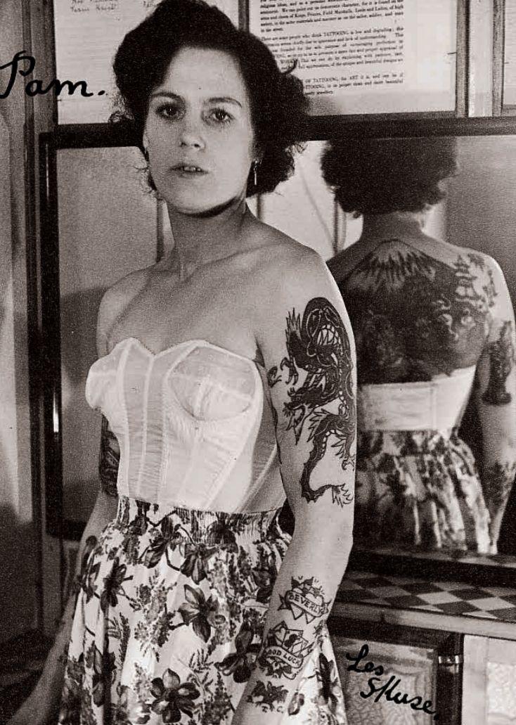 історія татуювань в 1950 роках