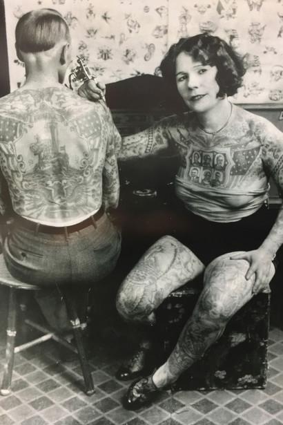 татуювання на початку 1920 роках