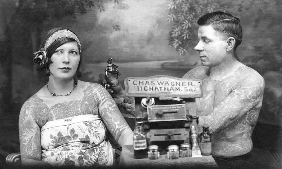 історія татуювань в 1930 роках