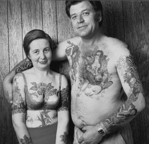 історія татуювань в 1970 роках