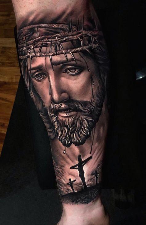 религиозный рукав с Иисусом