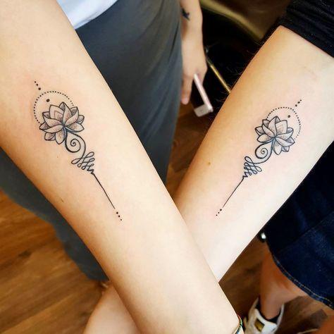 татуировка лотоса для пар