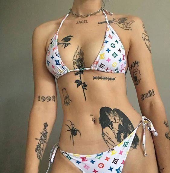 стильні жіночі татуювання