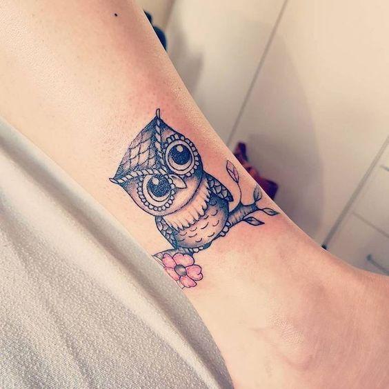 миле татуювання сови