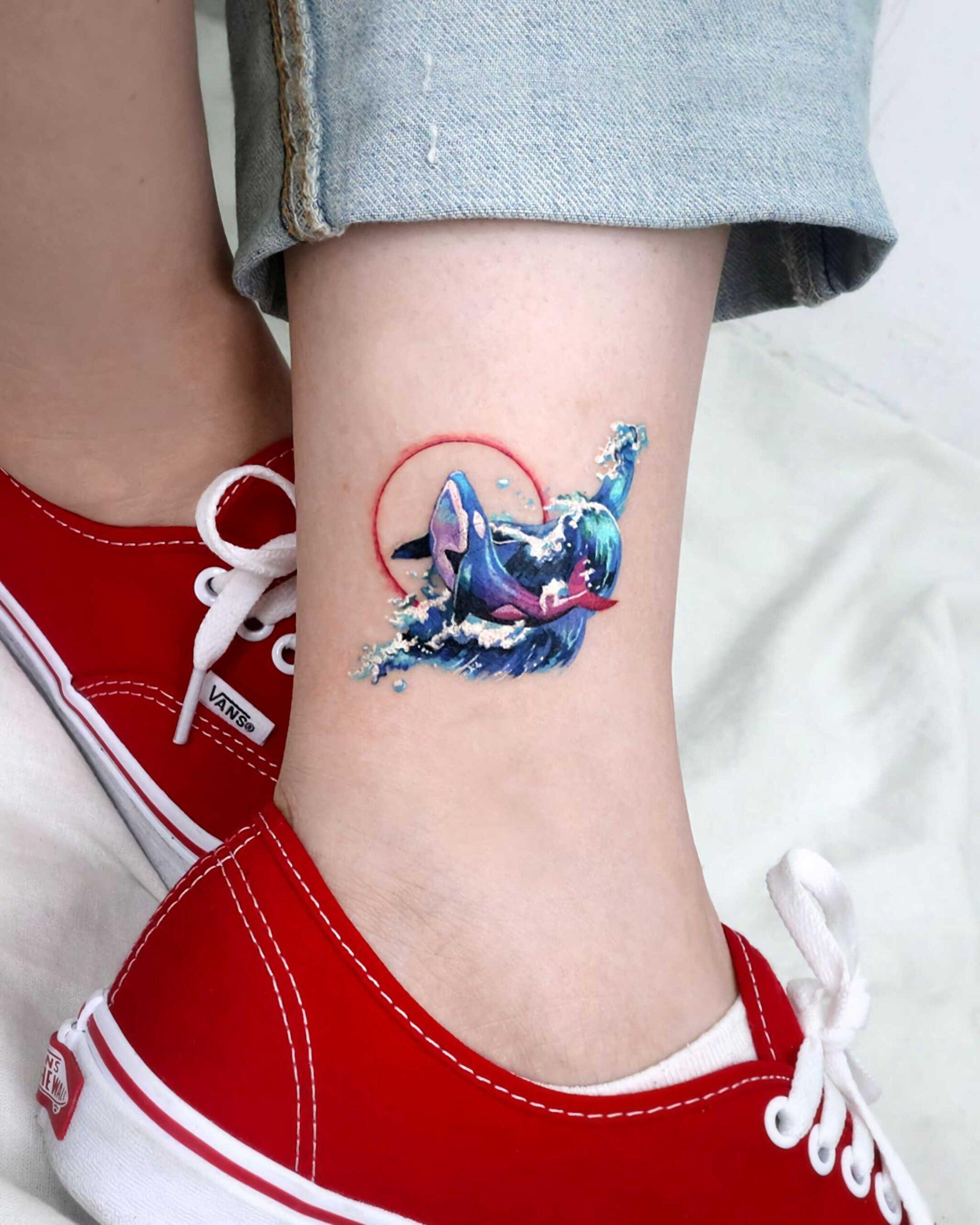татуировки на щиколотке