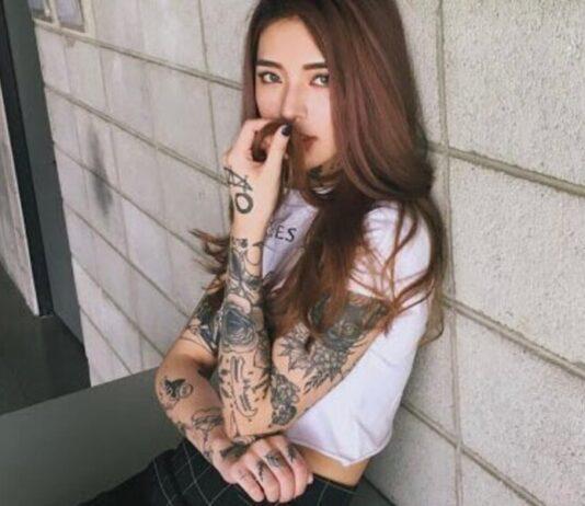 татуировки на рукаве для девушек