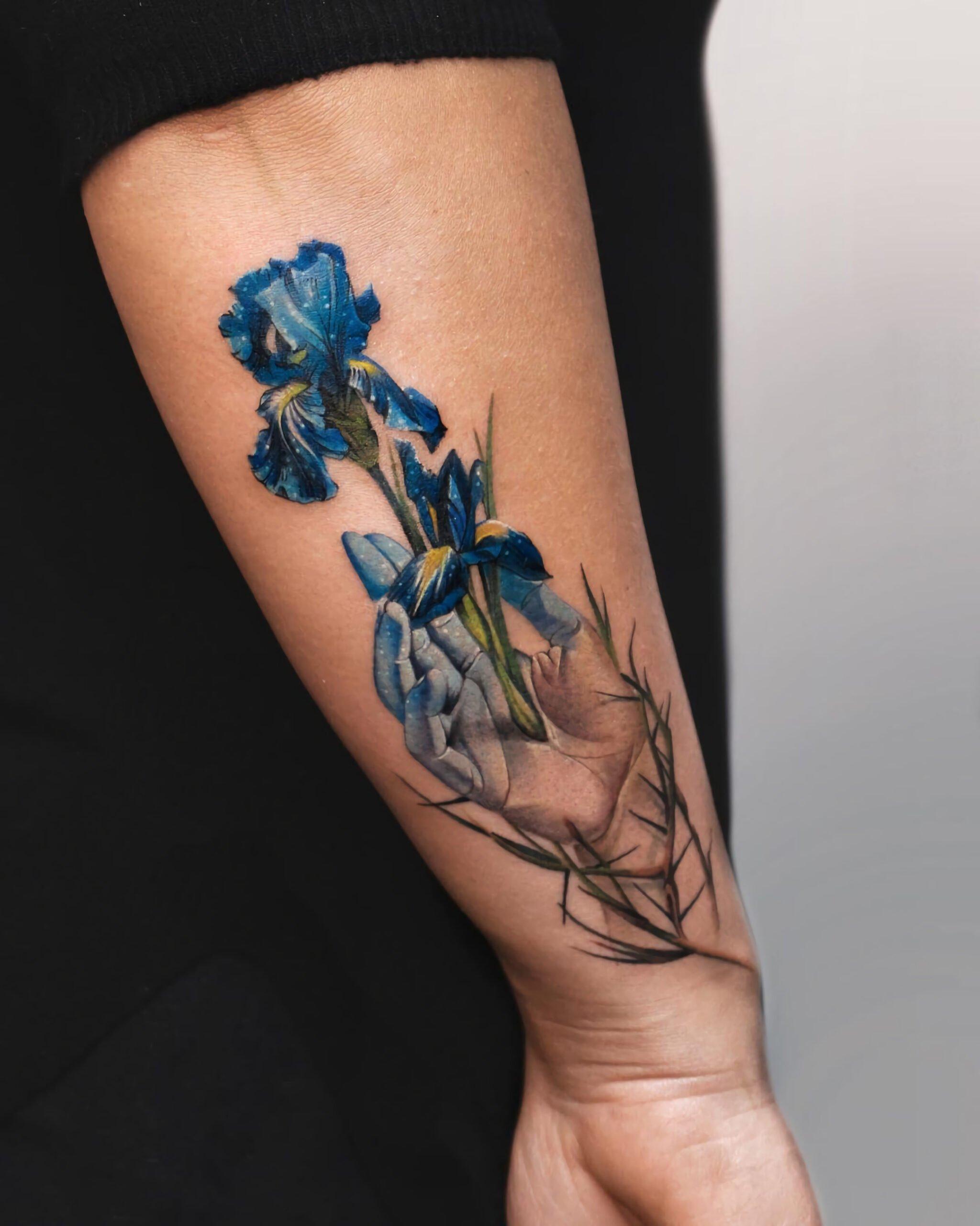 Татуировки в абстрактном стиле