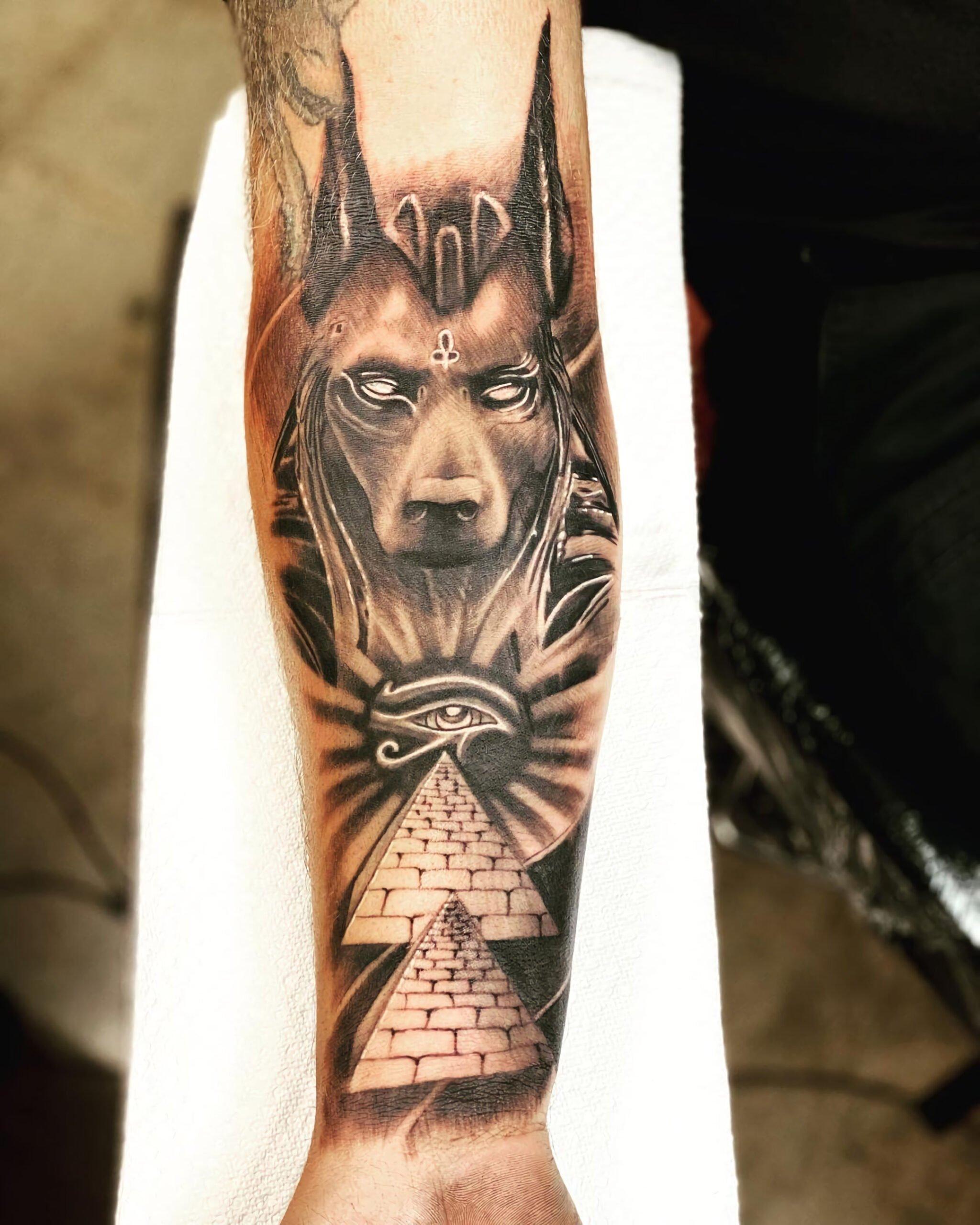 египетская защитная татуировка