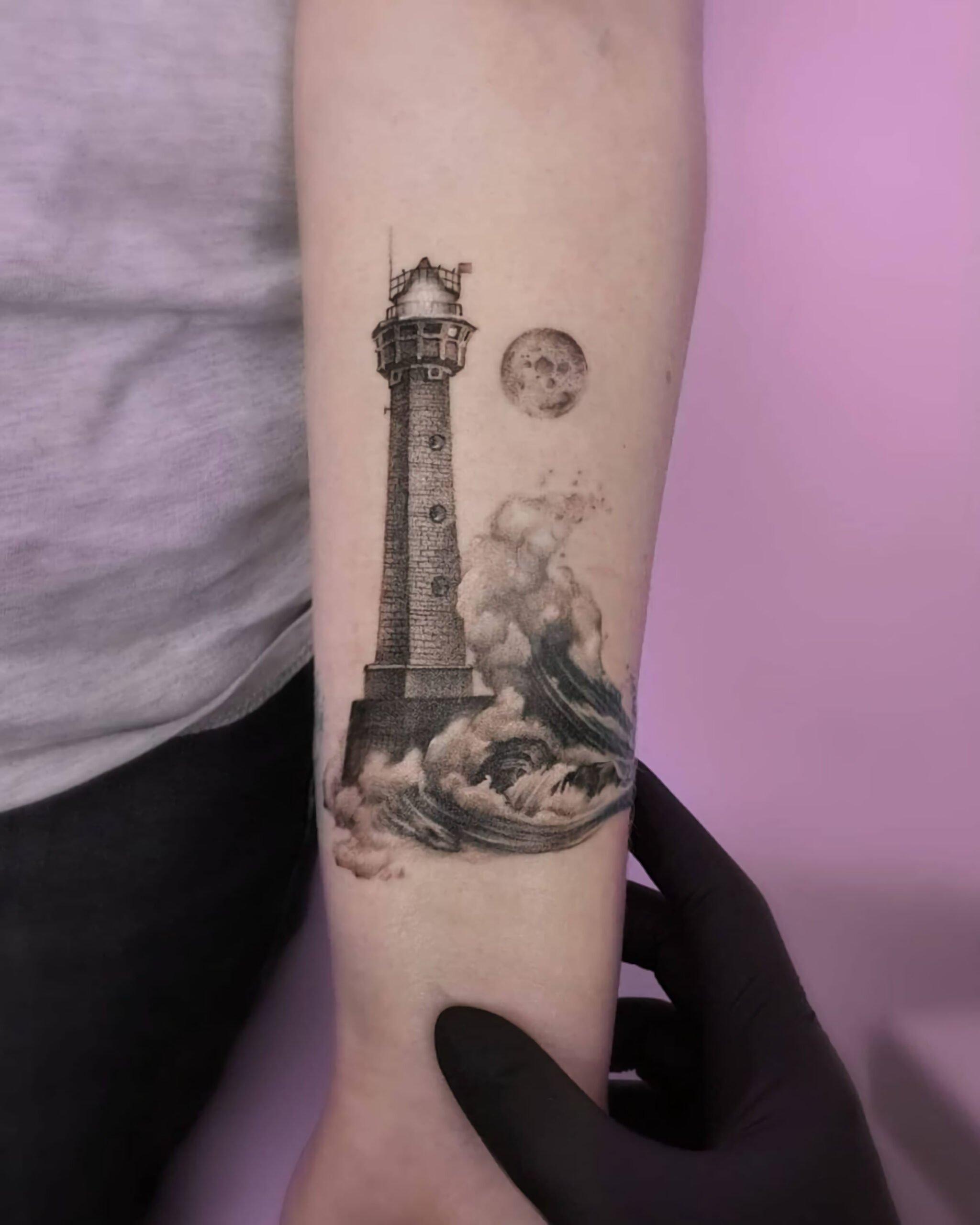 Татуировки в стиле миниатюр
