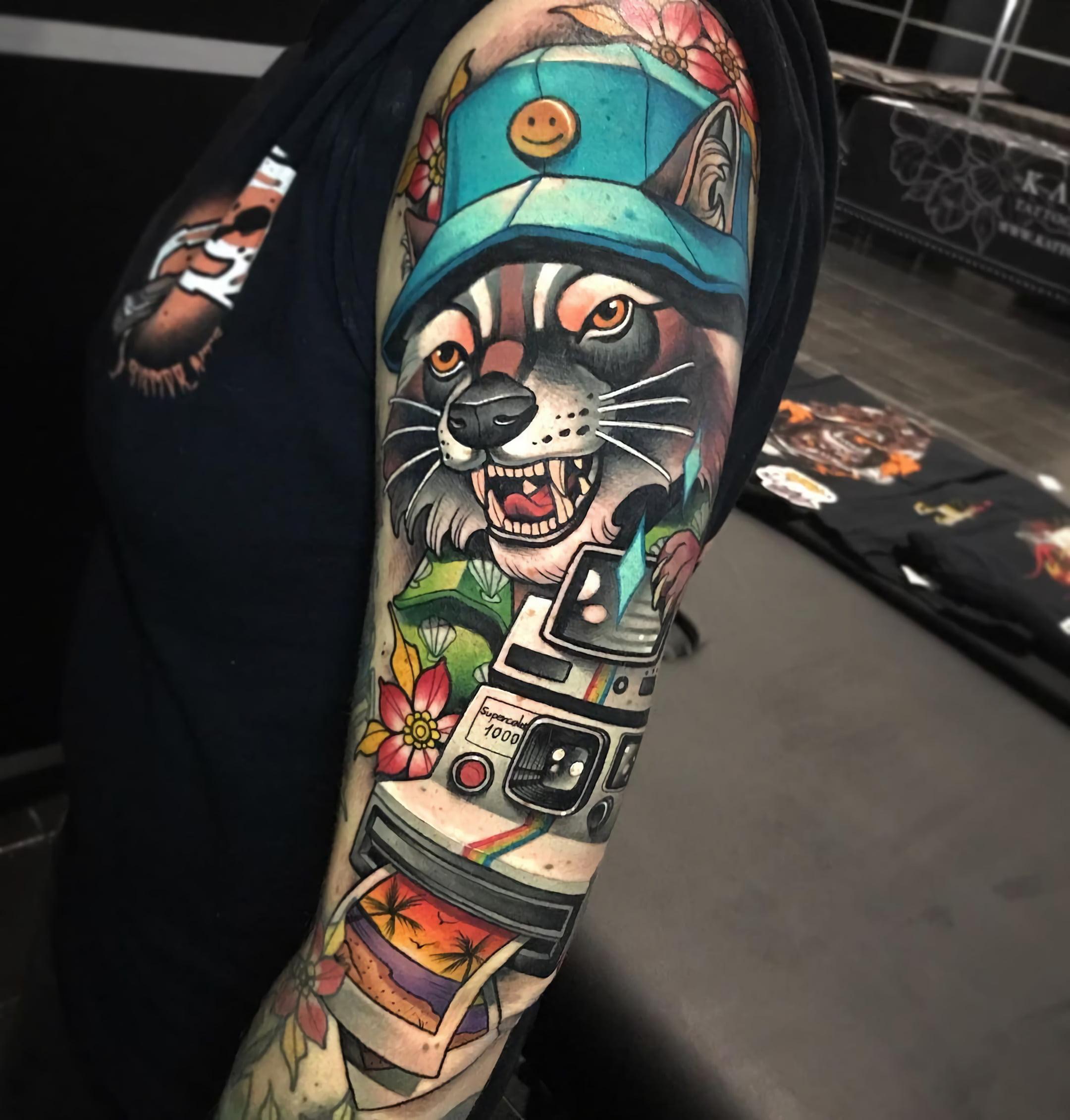 Стиль татуировок нео-традишнл