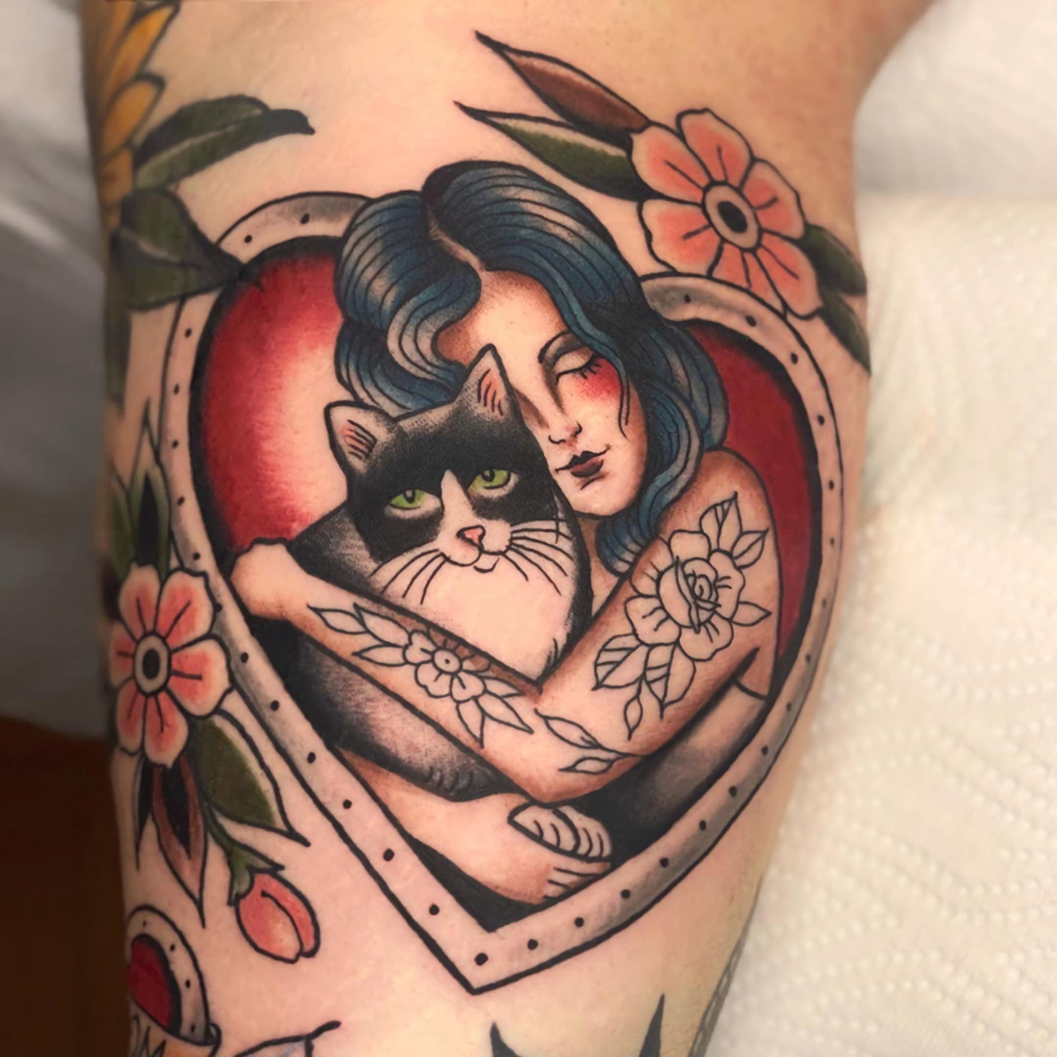 Стиль татуировок Олд скул