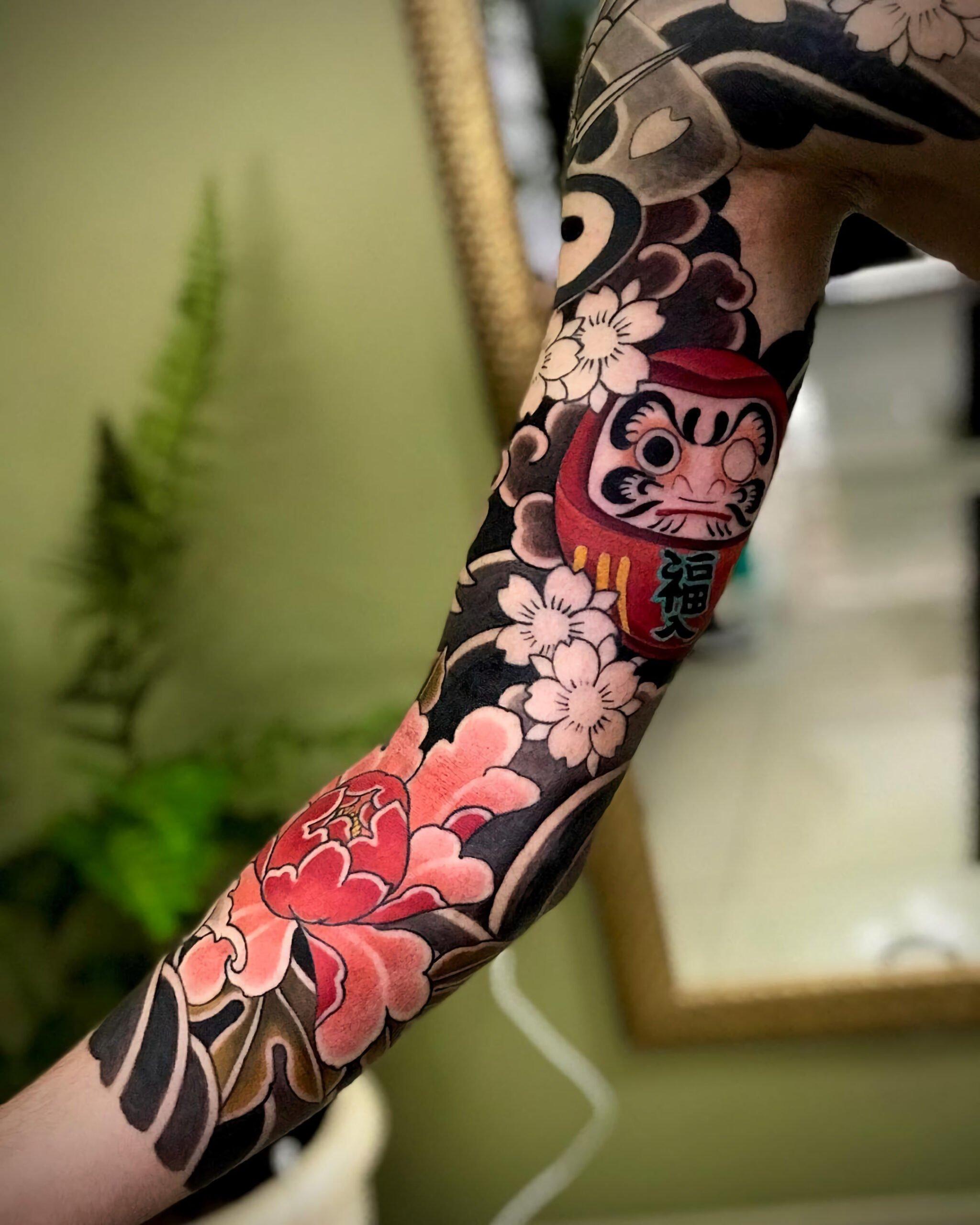Татуировки в стиле ориентал