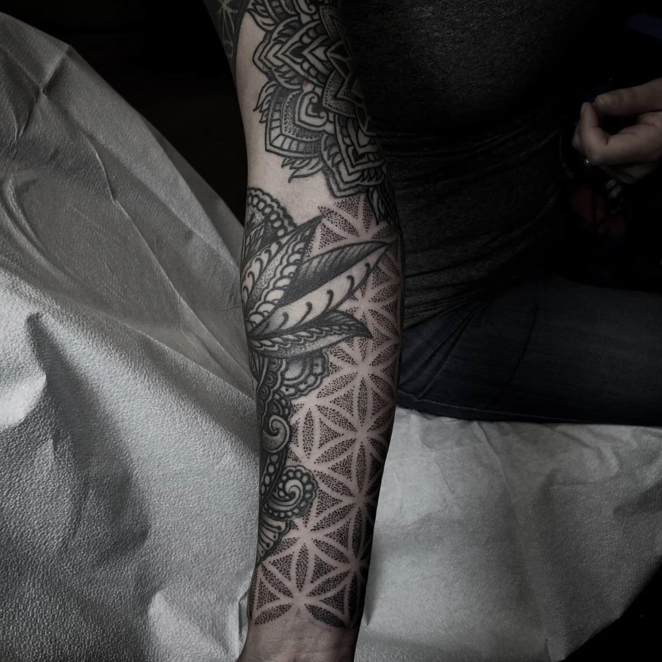 Татуировки в стиле Орнаментал