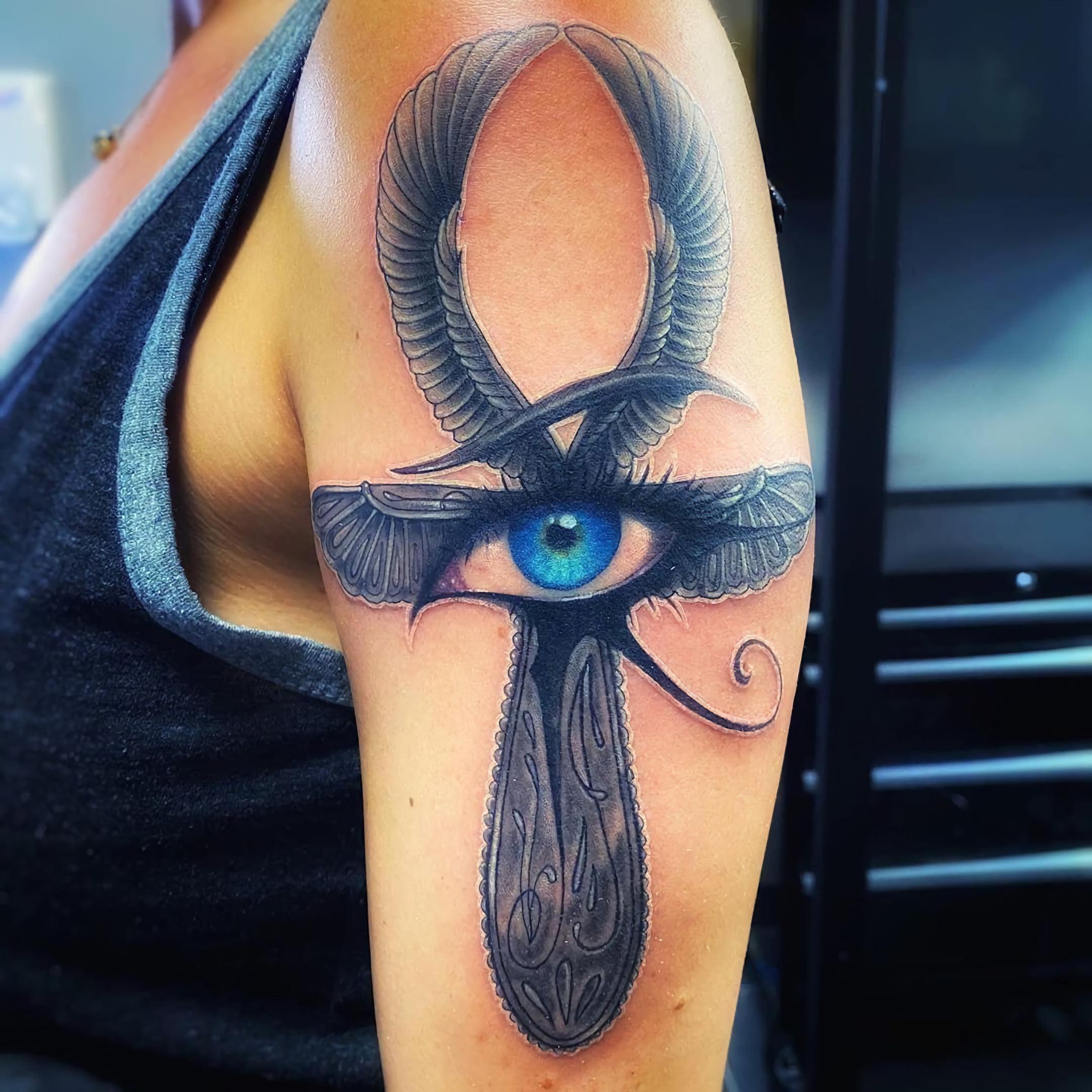 Татуировки с африканскими символами защиты