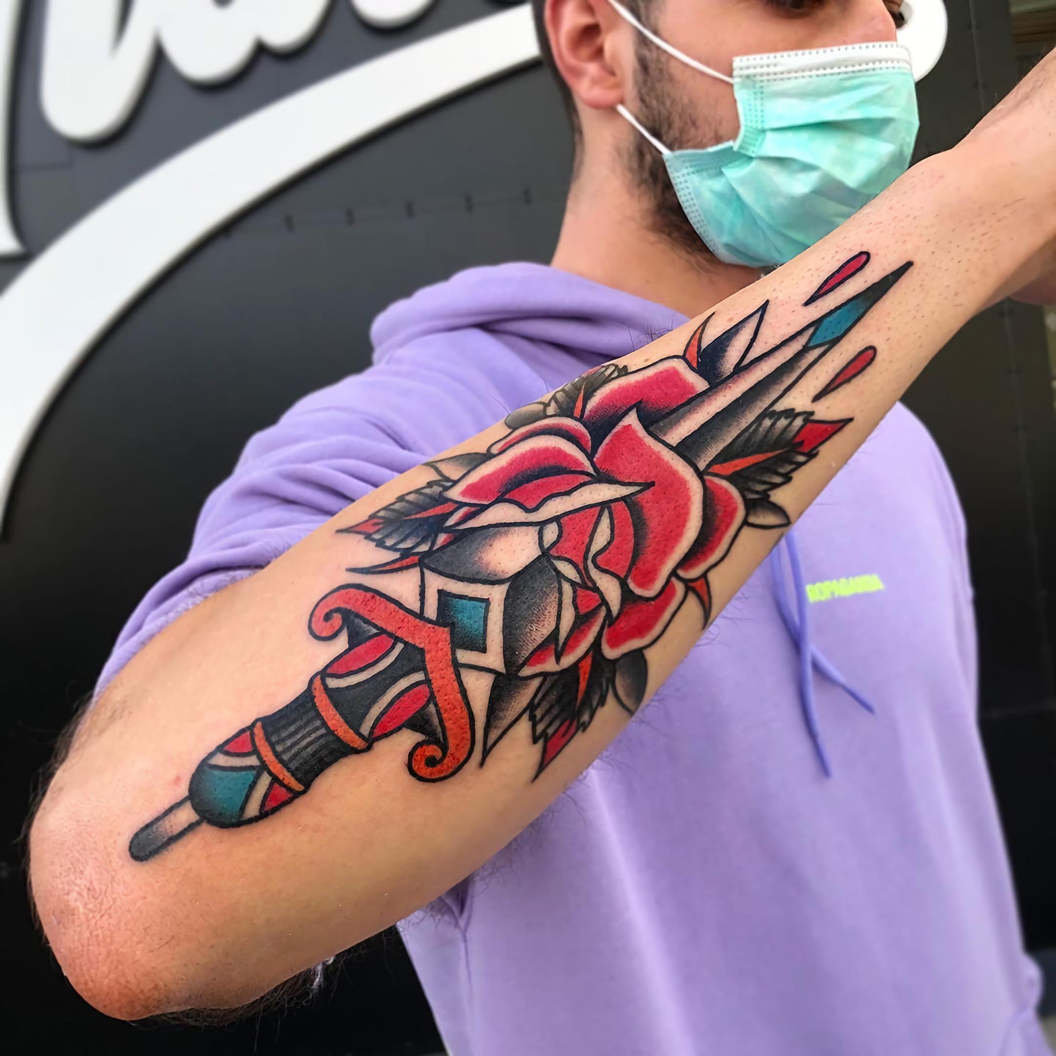 Традиционный стиль тату