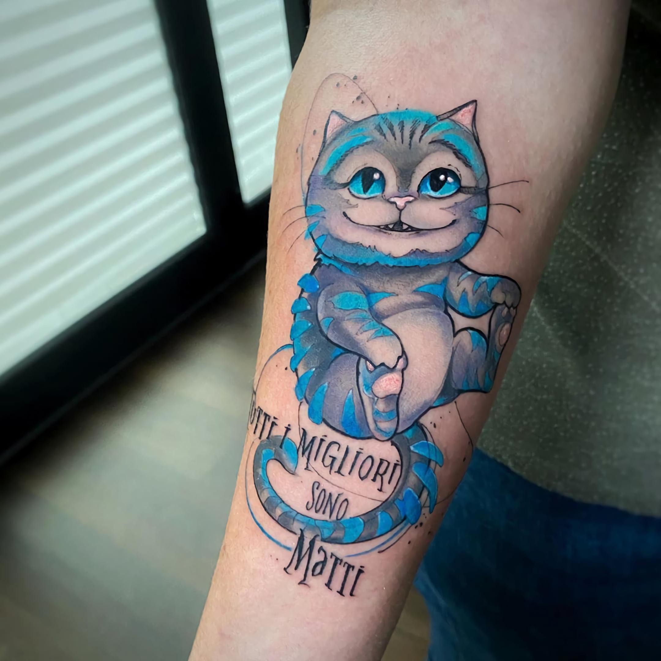 Татуировки в стиле акварель
