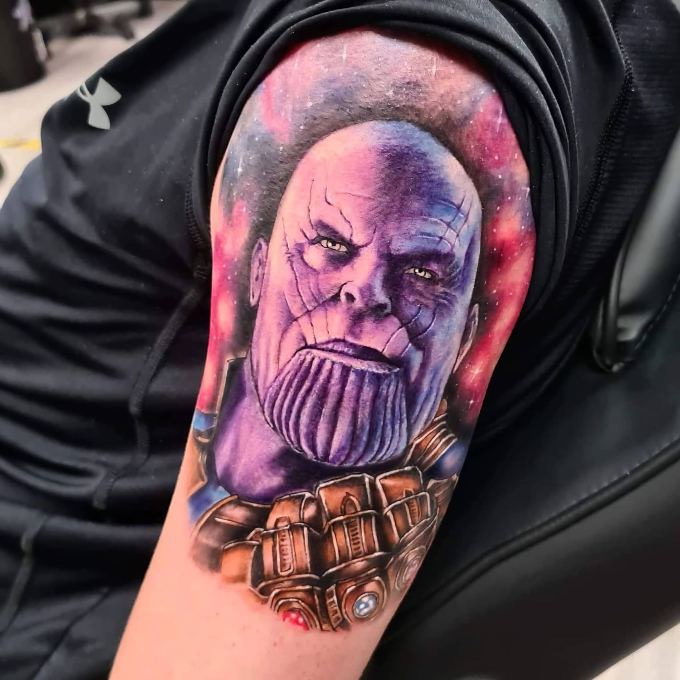 татуировка таноса