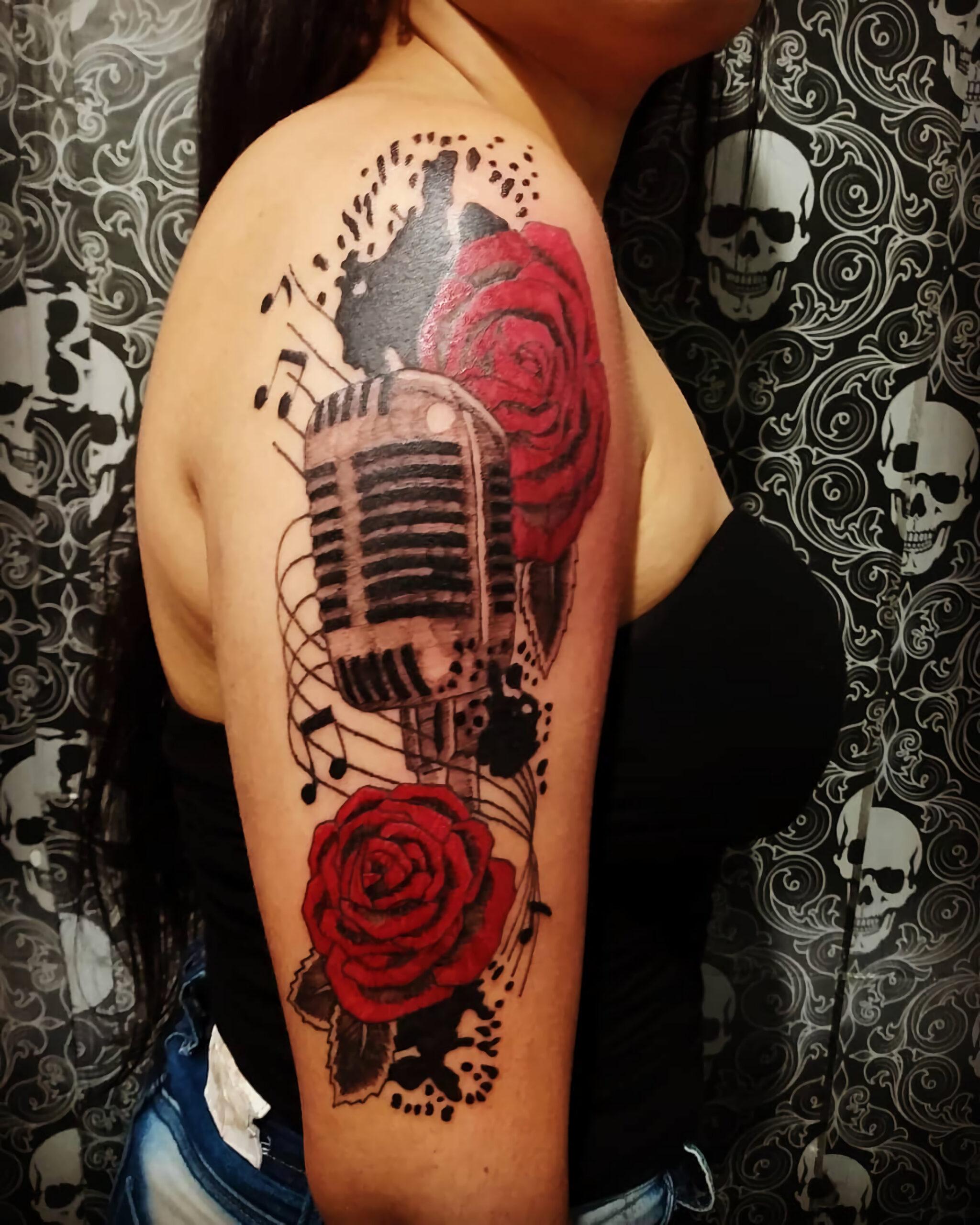 Музыкальная татуировка